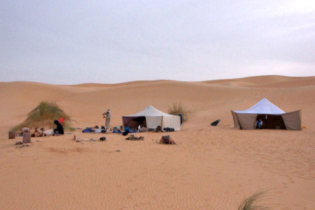 Pierre Yves Brissiaud voyage desert Mauritanie